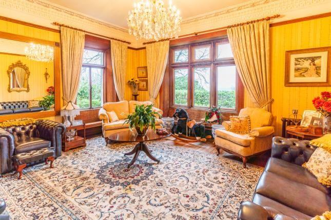Lounge of Tremfan Hall, Llanbedrog, Gwynedd LL53