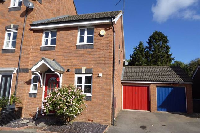 Thumbnail End terrace house to rent in Glendower Approach, Heathcote, Warwick