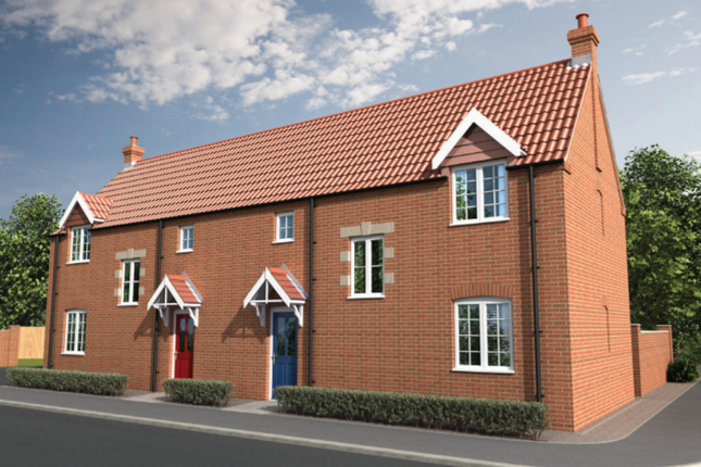 Thumbnail Semi-detached house for sale in The Colnbrook, Curtis Drive, Coningsby, Lincolnshire