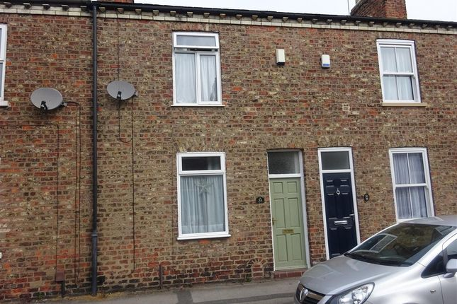 Thumbnail Terraced house for sale in Milner Street, Acomb, York