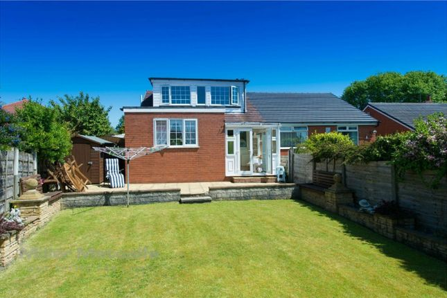 Thumbnail Semi-detached house for sale in Carlton Close, Worsley, Manchester