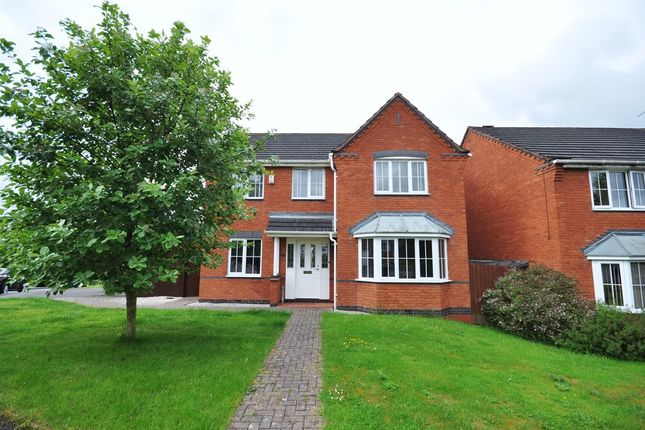 Thumbnail Detached house for sale in Hargate Road, Stapenhill, Burton-On-Trent
