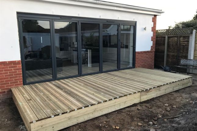 Decking. of Nansen Avenue, Oakdale, Poole BH15