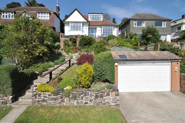 Thumbnail Detached bungalow for sale in Harvest Bank Road, West Wickham