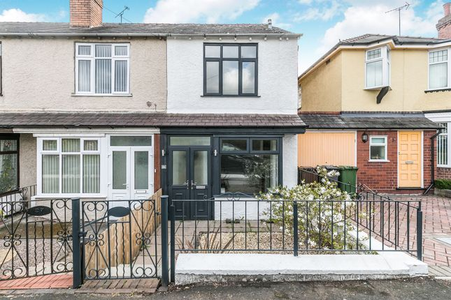 Thumbnail End terrace house for sale in Larches Road, Kidderminster