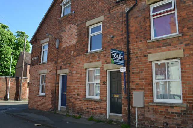 Thumbnail End terrace house to rent in Currie Road, Newark