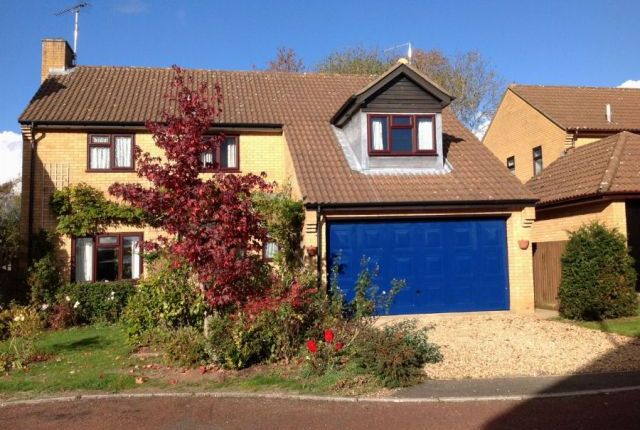 Thumbnail Detached house for sale in Wood Avens Close, West Hunsbury, Northampton