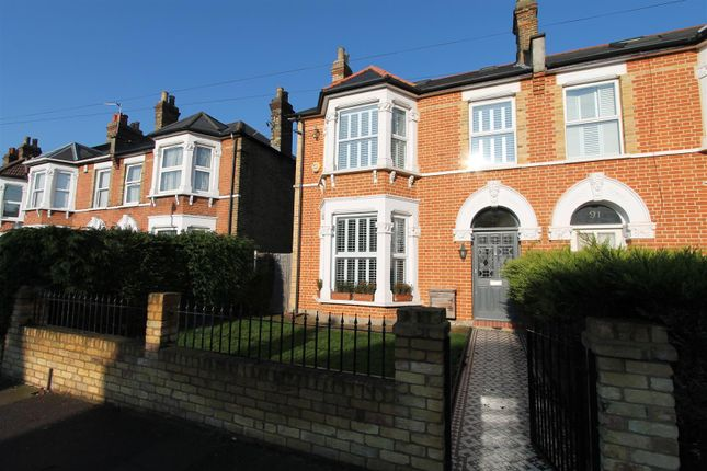 Thumbnail End terrace house to rent in Earlshall Road, London