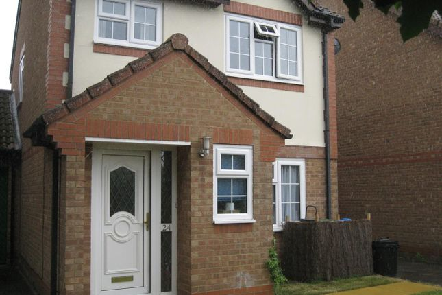 Thumbnail Link-detached house for sale in Lott Meadow, Aylesbury