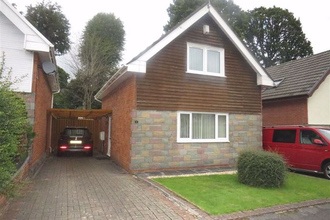 Thumbnail Detached house for sale in Ashgrove, Glyncoch, Pontypridd