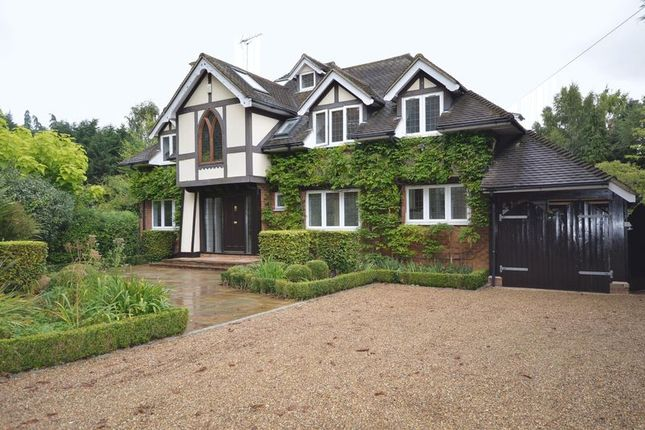 Thumbnail Detached house to rent in Bisham Road, Marlow