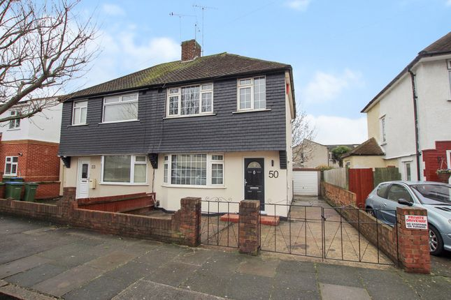 Thumbnail Semi-detached house for sale in Birkdale Road, Abbey Wood