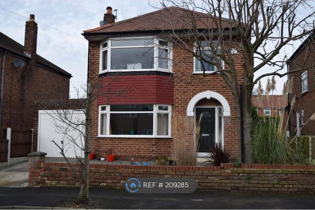 Thumbnail Detached house to rent in Ashbourne Road, Stockport