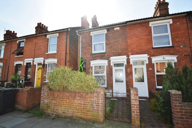 Thumbnail End terrace house for sale in Cemetery Road, Ipswich