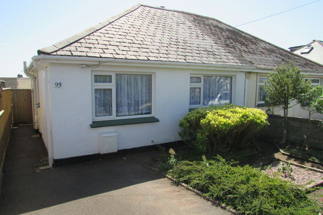 Thumbnail Semi-detached bungalow to rent in Barton Avenue, Paignton