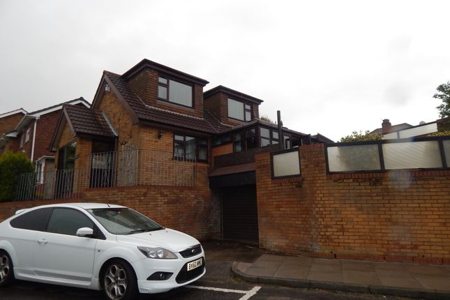 Thumbnail Detached bungalow to rent in Ridgewood Gardens, Great Barr, Birmingham