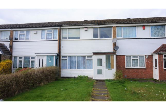 Thumbnail Terraced house for sale in Arderne Drive, Chelmsley Wood