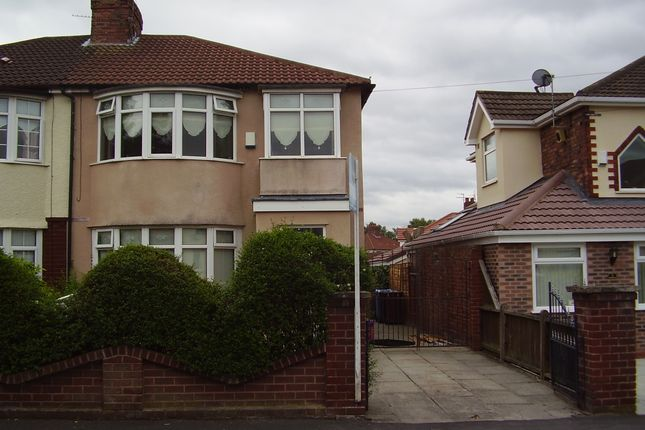 Thumbnail Semi-detached house to rent in Edna Avenue, Liverpool