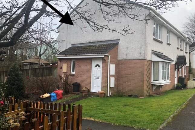 Thumbnail Terraced house to rent in Cedar Drive, Torpoint