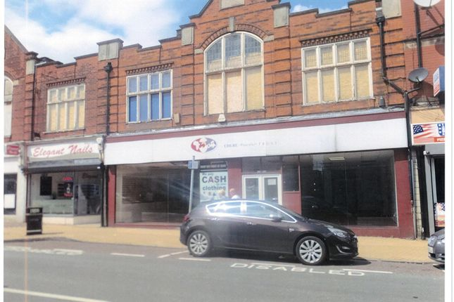 Thumbnail Retail premises to let in 9-11 Outram Street, Sutton-In-Ashfield, Notts