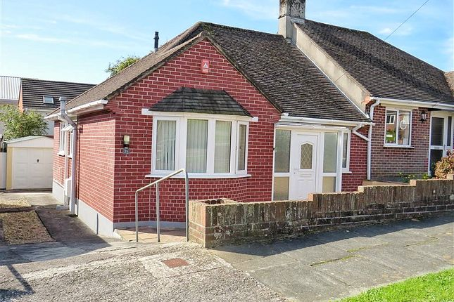 Thumbnail Semi-detached bungalow for sale in Revell Park Road, Plympton, Plymouth