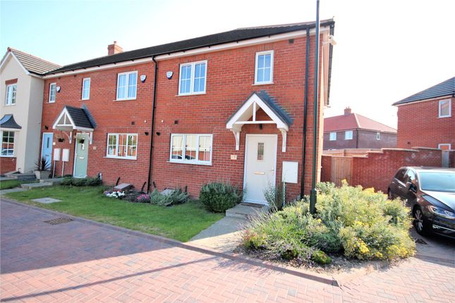 Thumbnail End terrace house to rent in Gervase Holles Way, Grimsby