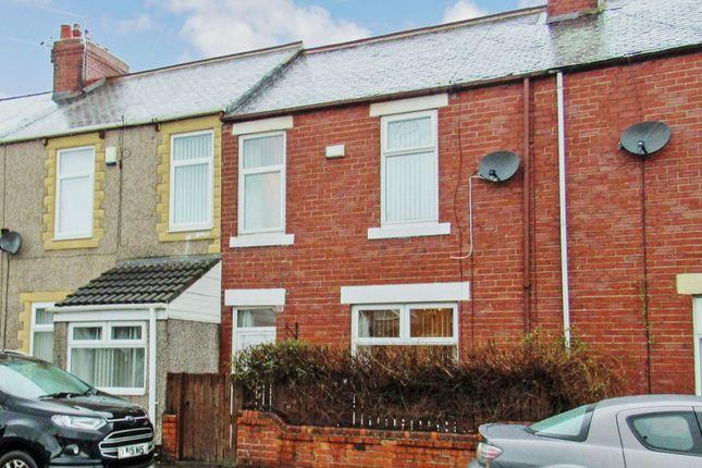 Thumbnail Terraced house to rent in Mowbray Terrace, Choppington