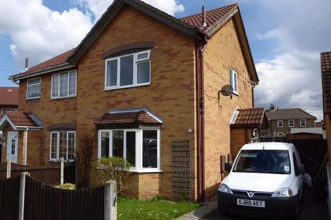 Thumbnail Semi-detached house to rent in Wordsworth Gardens, Aylesham, Canterbury