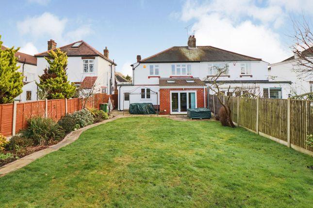 Thumbnail Semi-detached house for sale in Roslyn Gardens, Gidea Park