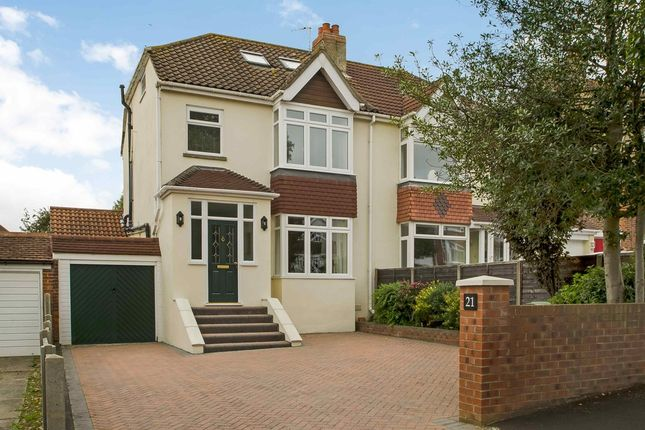 Thumbnail Semi-detached house for sale in Aberdare Avenue, Drayton, Portsmouth