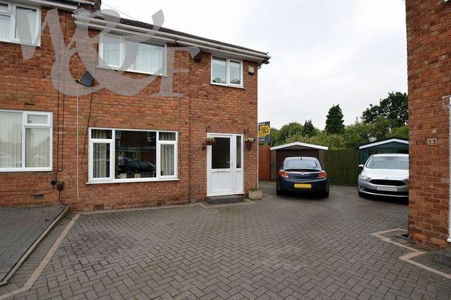 Thumbnail Semi-detached house for sale in Quincey Drive, Erdington, Birmingham