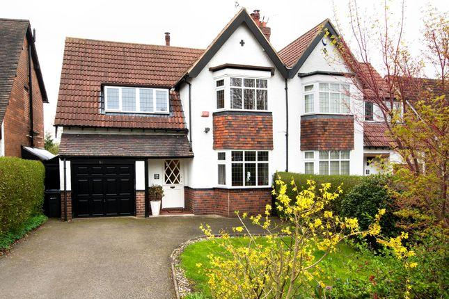 Thumbnail Semi-detached house for sale in Goldieslie Road, Wylde Green, Sutton Coldfield