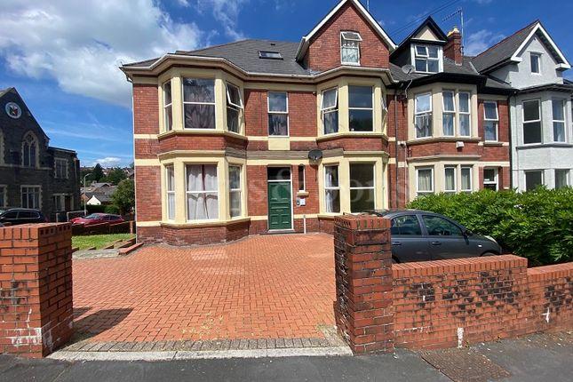 Thumbnail Flat to rent in Llanthewy Road, Newport, Newport.