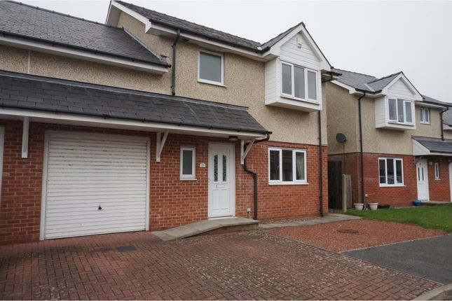 Thumbnail Semi-detached house for sale in Cae Gwastad, Harlech