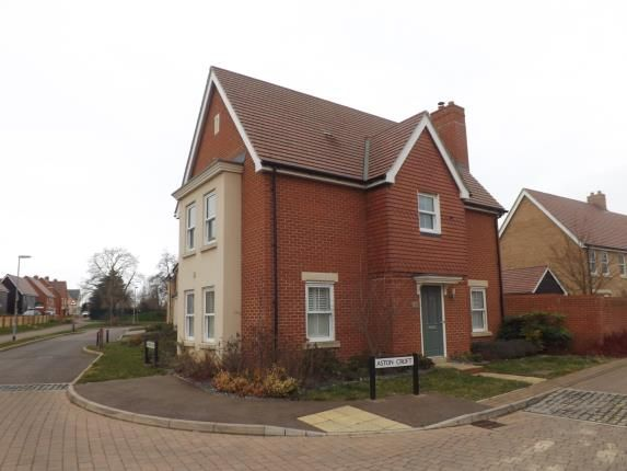 Thumbnail Detached house for sale in Aston Croft, Biggleswade, Bedfordshire
