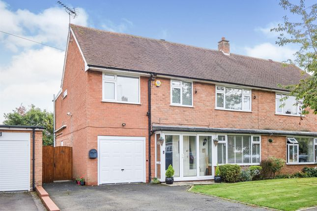 Thumbnail Semi-detached house for sale in Corvedale Road, Birmingham