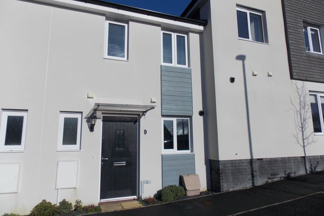 Thumbnail Terraced house to rent in Govetts Field, Launceston