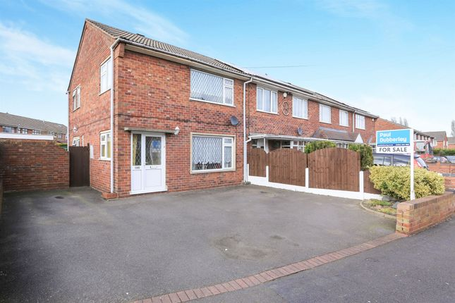 3 bed end terrace house for sale in Meldon Drive, Bilston