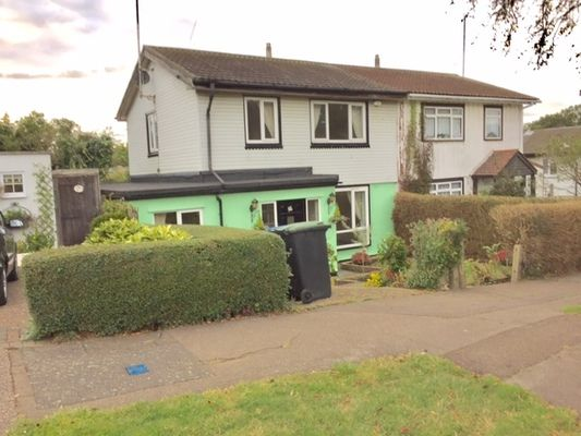 Thumbnail Semi-detached house to rent in Lindal Crescent, Enfield