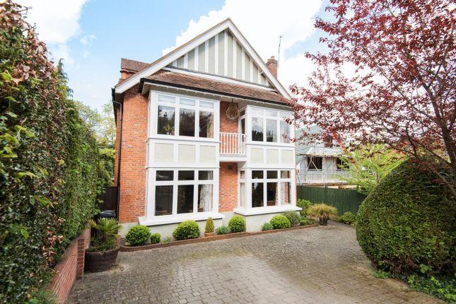 Thumbnail Detached house for sale in Fernhill Park, Hook Heath, Woking