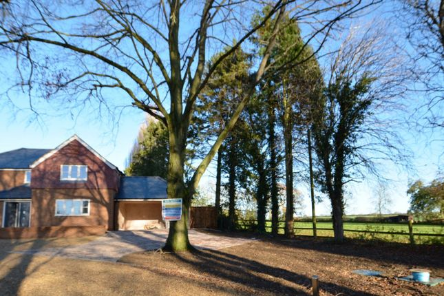 Thumbnail Detached house for sale in Denton Road, Horton, Northampton