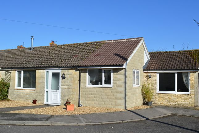 Thumbnail Semi-detached bungalow for sale in Willow Crescent, Broughton Gifford, Melksham