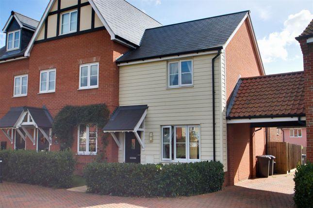 Thumbnail End terrace house for sale in The Sandlings, Martlesham, Woodbridge