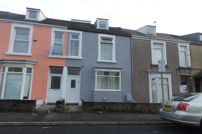 Thumbnail Shared accommodation to rent in Henrietta Street, Swansea