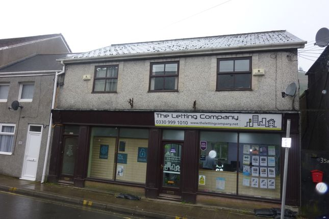 Thumbnail Flat to rent in Oxford Street, Pontycymer, Bridgend