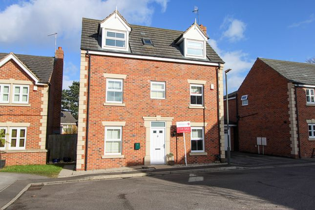 Thumbnail Detached house for sale in Saxton Close, Hasland, Chesterfield