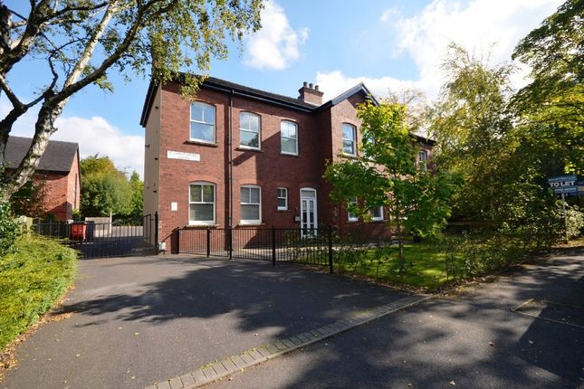 Thumbnail Flat to rent in St Christophers Avenue, Penkhull