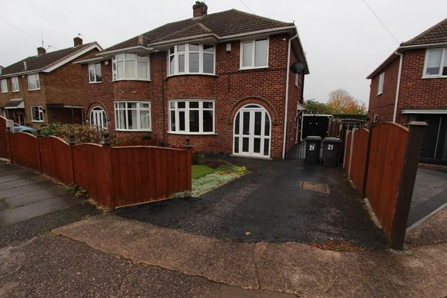 3 bed semi-detached house to rent in Brampton Drive, Stapleford NG9