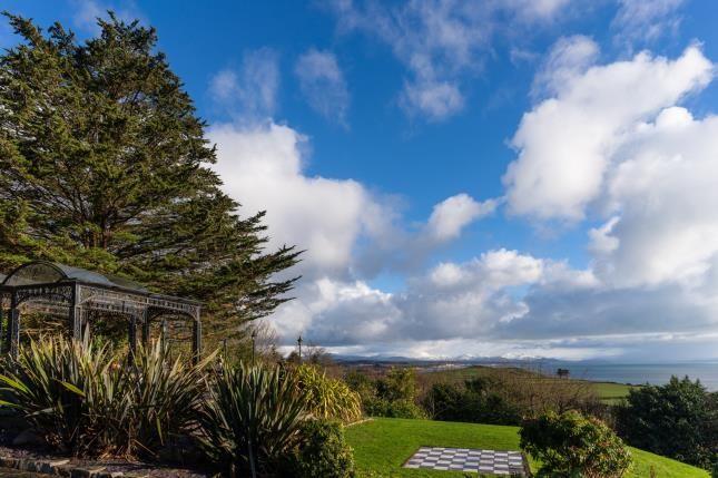Front Views of Tremfan Hall, Llanbedrog, Gwynedd LL53