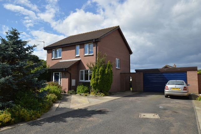Thumbnail Detached house for sale in Lawfield, Coldingham, Eyemouth, Berwickshire, Scottish Borders